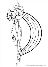 Rainbow Coloring Pages Free For Kids