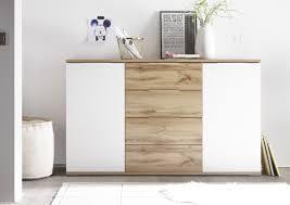 kommode becasa sideboard wohnzimmer schlafzimmer flur wildeiche weiß