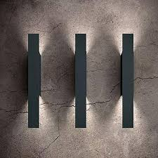 the most contemporary modern outdoor wall lighting property