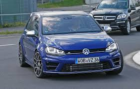 VW Golf R420 spy photos best look yet at 2016 s super Golf GTI by
