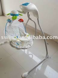 Baby auto swing cradle with magnetic technology driving force baby