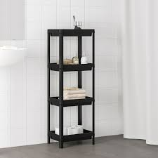 vesken shelf unit black 14 1 8x9x39 3 8 ikea regal
