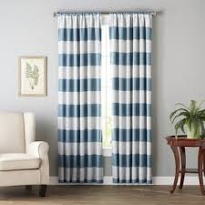 Black And White Striped Curtains by Striped Curtains U0026 Drapes You U0027ll Love Wayfair