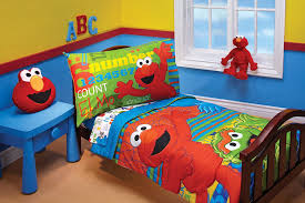 Monster High Bedroom Set by Amazon Com Sesame Street Abc 123 4 Piece Toddler Set Toddler