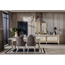 esszimmer möbel in gold hochwertig bei optimamoebel kaufen