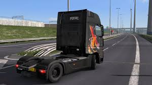 MERCEDES BENZ ACTROS 2014 - RISE PAINTJOB BY L1ZZY 1.30.X TRUCK SKIN ...