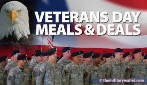 2017 Veterans Day Free Meals & Discounts Over 100 fers & Freebies