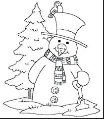 Disney Winter Coloring Pages To Print For First Grade Fantastic Printable Snowman Toddlers Adults