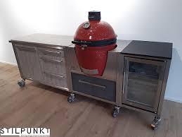 sonstige musterküche burn out outdoorküche mit grill
