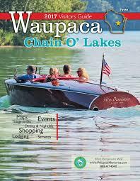 Machine Shed Breakfast Buffet Appleton by Waupaca Chain O U0027 Lakes Area 2017 Visitor Guide By Waupaca Area