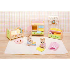 calico critters tanner tallulah s nursery fun time tallulah
