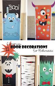 Cool Classroom Door Decorations For Halloween