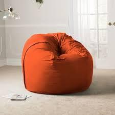Giant Bean Bag Chair Option Orange