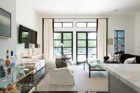 White And Brown Living Rooms