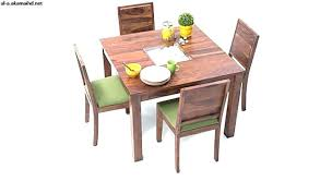 4 Piece Dining Table Set Gorgeous Solid Wood Wooden Glass Price