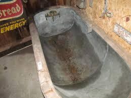 Galvanized Stock Tank Bathtub by Outdoor Galvanized Bathtub U2014 Steveb Interior Best Install