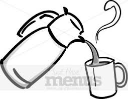 Pouring Coffee Clipart