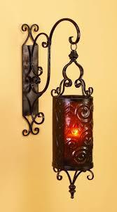 Tuscan Decorative Wall Plates by Spanish Hanging Metal Candle Lantern Tuscan Designed Ornate