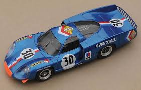 Profil 24 Alpine A220 model from Grand Prix Models