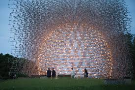 100 Kew Residences Wolfgang Buttress Hive Pavilion Creates Buzz In Londons