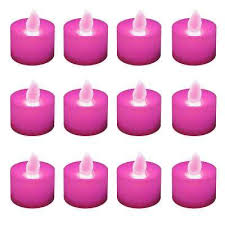 Pink Tea light Candles Candles & Home Fragrance The Home Depot