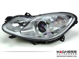 smart car headlights european design by magneti marelli driver