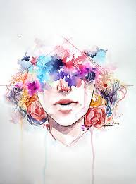 Image About Girl In Arts By Gold Petal On We Heart It