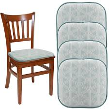 """Dream Home (Set Of 4) Gripper Chair Pads For Office Chairs, 16"""" X 16""""  Indoor Seat Cushion For Kitchen Chairs, Seat Pillow For Rocking Chair, ... Botanical Glow Tiger Lily Inoutdoor Rocking Chair Cushion Amazoncom Indoor Outdoor Set Pad Nonslip Bedroom Outstanding Design Of Cushions For Nursery Chairs Large Seat Pads Winsome Target With Fabulous Unique Styles Comfort Classic Channeled Sunbrella Chaise Lounge Wingback Black Adirondack Bistro Arm Fniture Kitchen Polyester Tartan Check Garden Ding Ideas And Charming Accsories Attractive Ikea Your Comfortness Sets Decor Ideasdecor Pier One Metal Retro Buy Vintage Babies R Us"""