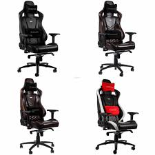 # Noblechairs EPIC Series Genuine Leather Gaming Chair # 4 Color Avlbl Redragon Coeus Gaming Chair Black And Red For Every Gamer Ergonomically Designed Superior Comfort Able To Swivel 360 Degrees Playseat Evolution Racing Video Game Nintendo Xbox Playstation Cpu Supports Logitech Thrumaster Fanatec Steering Wheel And Pedal T300rs Gt Ready To Race Bundle Hyperx Ruby Nordic Supply All Products Chairs Zenox Hong Kong Gran Turismo Blackred Vertagear Series Sline Sl5000 150kg Weight Limit Easy Assembly Adjustable Seat Height Penta Rs1 Casters Sandberg Floor Mat Diskus Spol S Ro F1 White Cougar Armor Orange Alcantara Diy Hotas Grimmash On