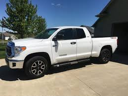 Bigger Tires With A Front Leveling Kit | Toyota Tundra Forum