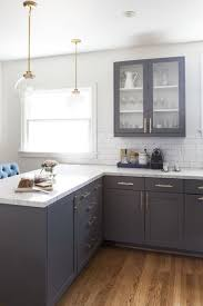 light wood cabinets in kitchen vintage grey cabinets with