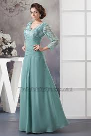 elegant v neck lace long sleeve formal dress prom gown