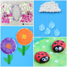 Here Are 50 Spring Crafts And Activities For Kids Ranging From Free Printables