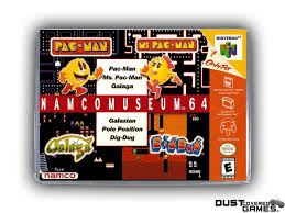 Namco Museum 64 N64 Nintendo 64 Game Case Box Cover Brand New Pro ...