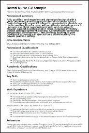 Dental Resume Example Nurse Sample Sales Objective