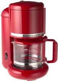 Amazon KitchenAid KCM055 4 Cup Ultra Coffeemaker Empire Red Kitchen