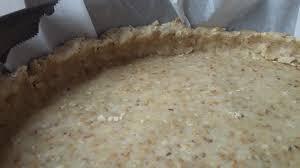 pâte à tarte à base de flocons d avoine et huile d olive sans
