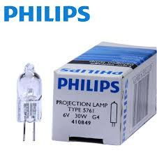 philips 5761 30w 6v projector light bulb new philips projection