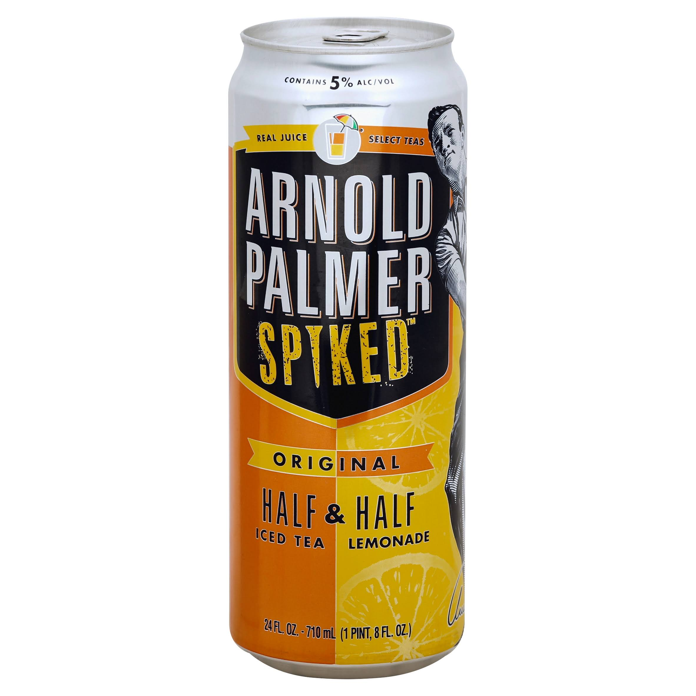 Arnold Palmer Spiked Half & Half, Iced Tea & Lemonade, Original - 24 fl oz