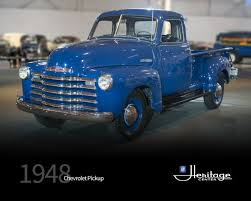 100 1948 Chevy Truck GM Heritage Center Collection Chevrolet Pickup