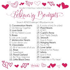 30 Day Challenge February Prompts Good To Know Pinterest