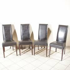 4 esszimmer stühle leder schwarz holz möbel höffner gattuso stuhl