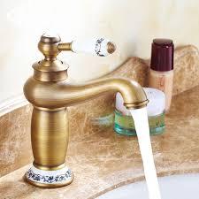 rétro salle de bains évier bassin robinet le magique style