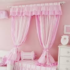 Pink Ruffled Window Curtains by Lilliancurtains