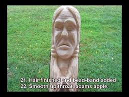 wood carve an indian walking stick youtube