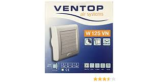 ventilator für wand und deckenmontage ø 125 mm ventop air