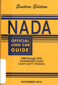 100 Nada Used Car Values Trucks NADA Official Guide Eastern Edition 2098 Through 2016
