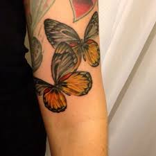 Butterfly Sleeve Tattoo Pictures To Pin On
