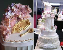 Secret Garden Wedding Cakes By Sugar Realm Left And Samanthas Cake Design Jersey Right