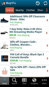 BuyVia - Best Shopping Deals For Android - Download Best Buy Toy Book Sales Cheap Deals With Coupon Codes In Store Coupons Blog Buyvia Shopping For Android Download Commercial Appeal Coupons Food Delivery Promo Code Uk Systools Mbox Viewer Pro 50 Discount 100 Working How To Use Canada Buy Discount Canada Babbitts Honda Partshouse Coupon Zavvi Voucher Codes Online Food Shopping Ypal Ebays New Price Guarantee Lets You Bargain 10 Off Psn 2019 Loccitane Updated November Everwebinar Get 60 Off